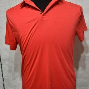 Alfani Men's Stretch Basic Polo Shirt Red Size S